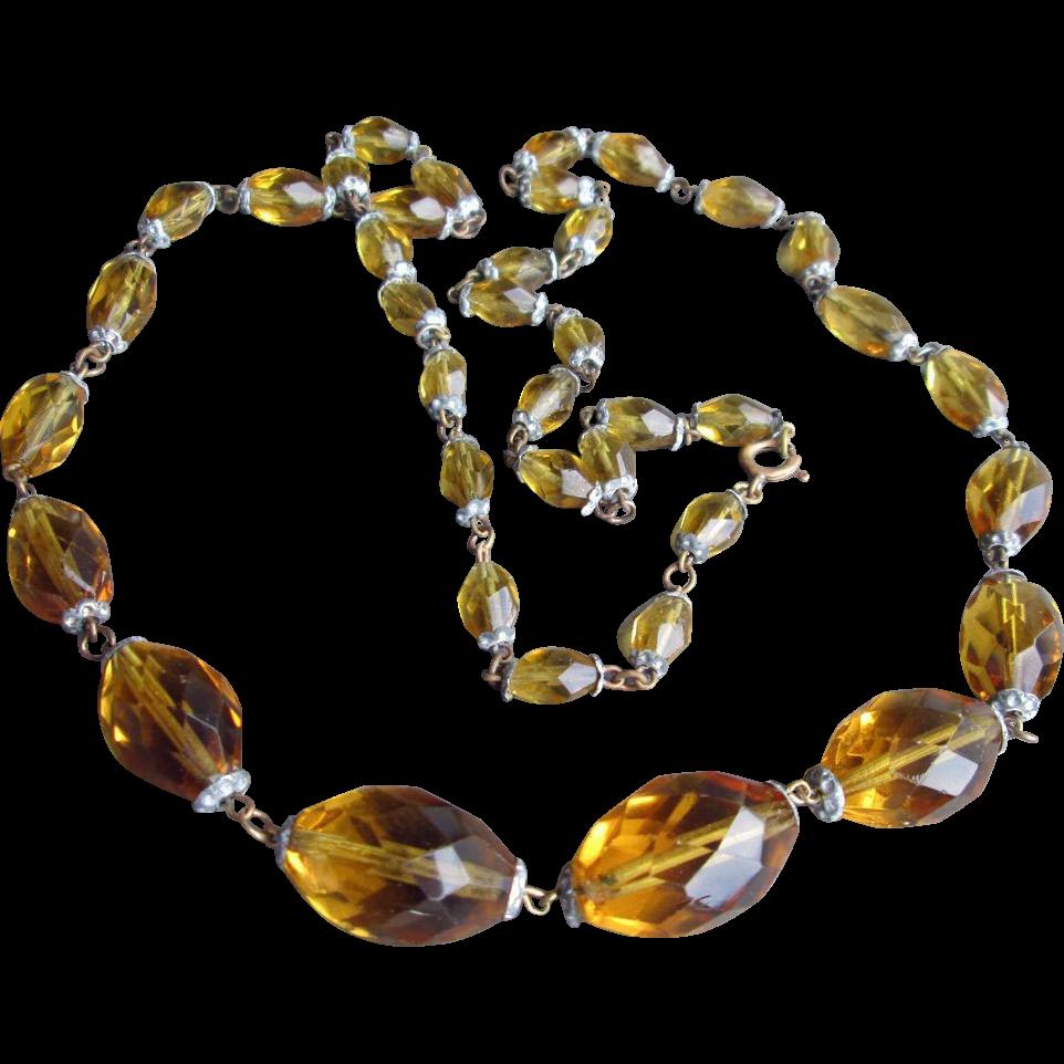 Vintage Flapper Necklace 38