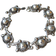 DRASTIC REDUCTION Taxco Mexico Sterling Silver Vintage Bracelet