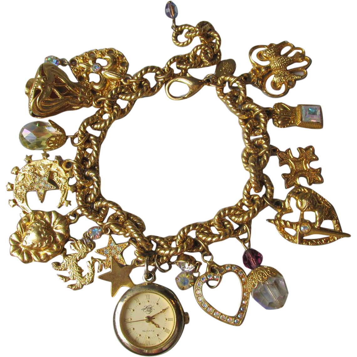 vintage 1994 kirks folly camelot charms of time