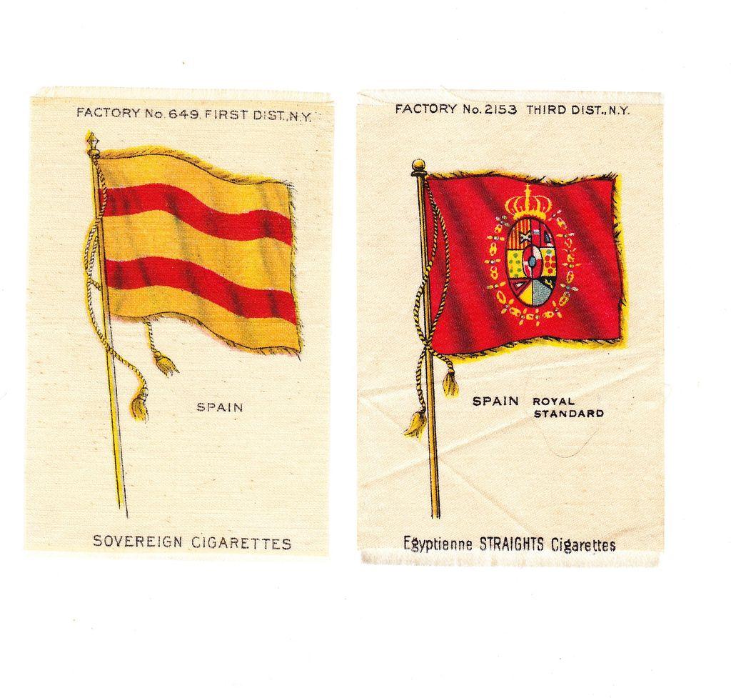 1785 1931 spain national flag u0026 royal standard vintage early