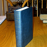 "1922 New England Sea Captain Biography First Edition -  Stonington, Connecticut ""Captain Nathaniel Brown Palmer – An Old Time Sailor of the Sea"" - Sailing Sea Captain, Seal Fur Hunter, Orient Trader and Clipper Ship Designer"