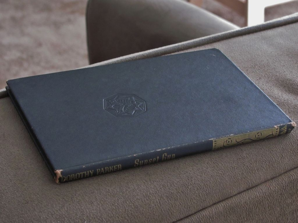 "1941 Dorothy Parker Poetry  Book Volume ""Sunset Guns"" - Sun Dial Press Vintage Edition"