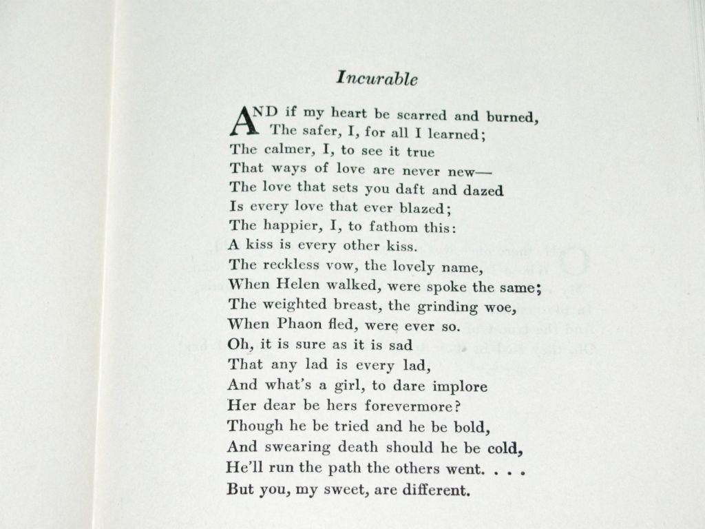 1941 Dorothy Parker Poetry Book Volume
