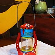 1950's Toy Roy Rogers Cowboy Lantern - Ohio Art Company