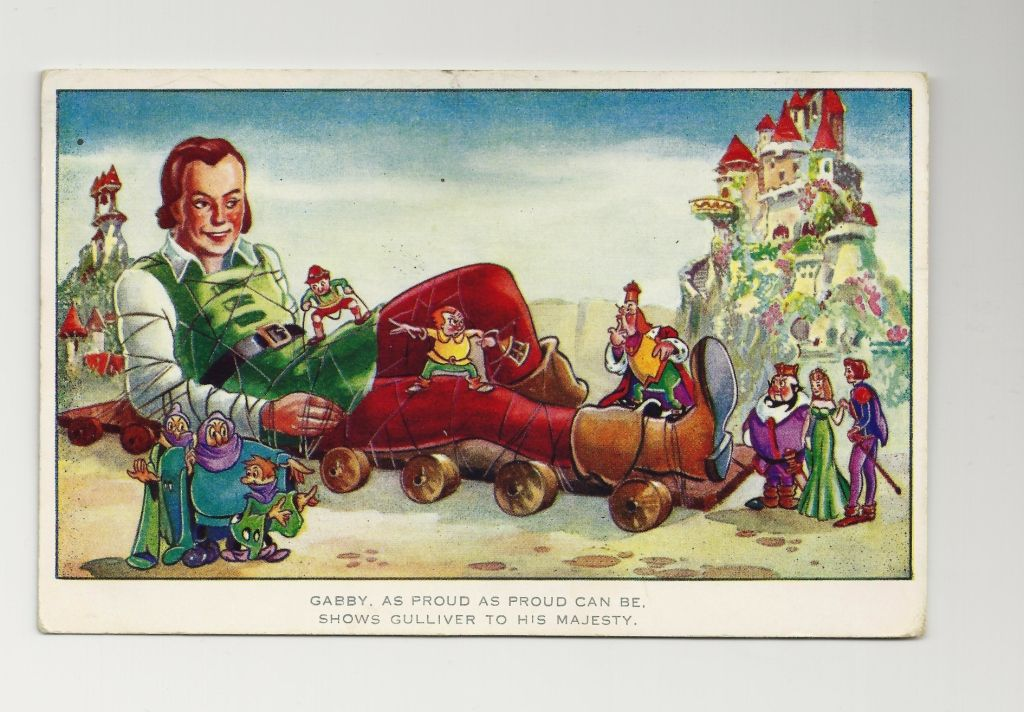 Gulliver S Travels Cartoon Characters