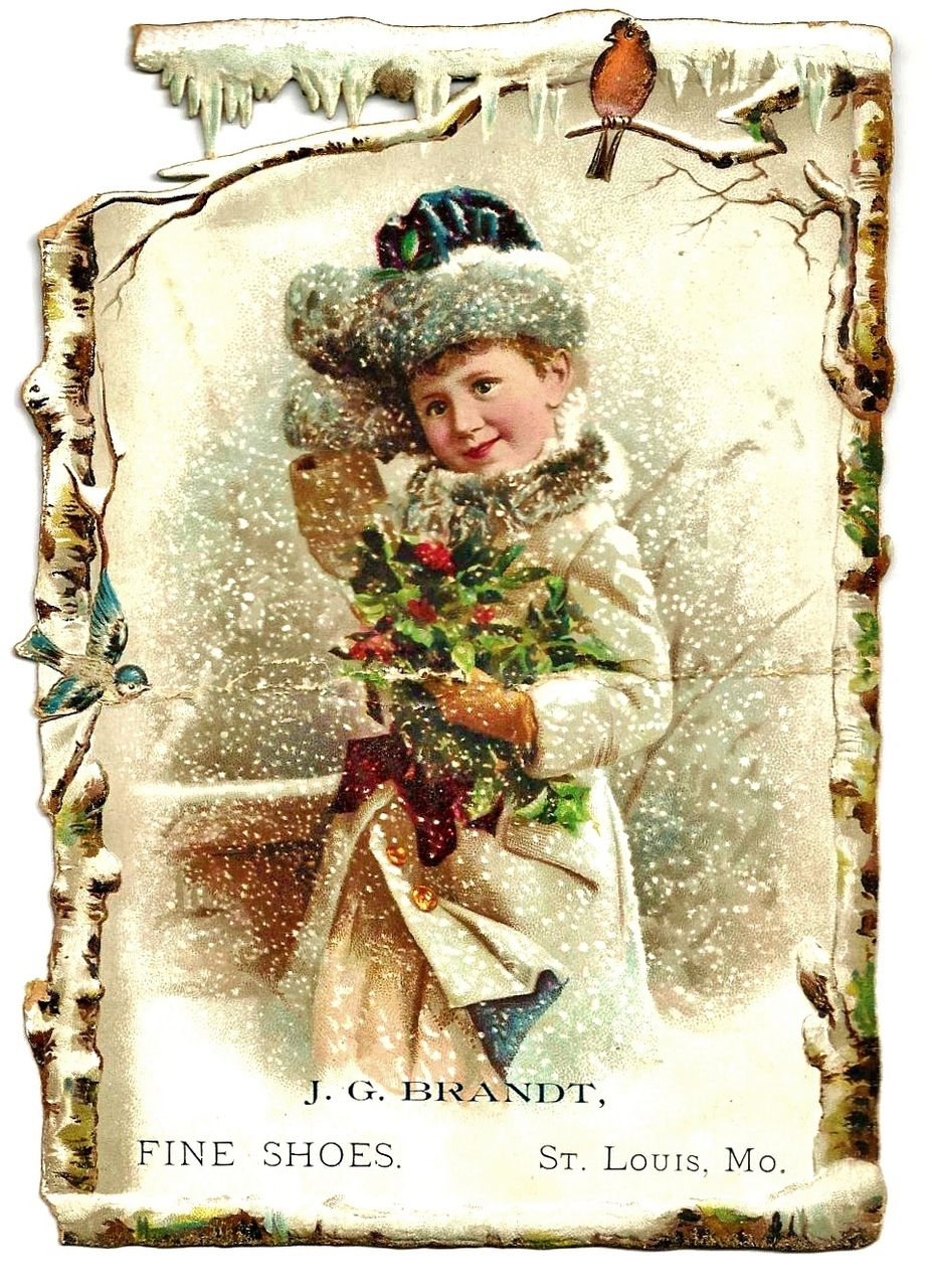 It's just a graphic of Divine Free Victorian Christmas Images