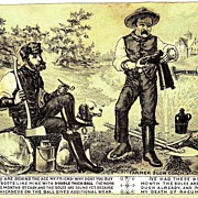 c1880 Candee Rubber Boots Victorian Advertising Trade Card  - Vulcanized Farmers' Boots - Candee and Company, Hamden, Connecticut