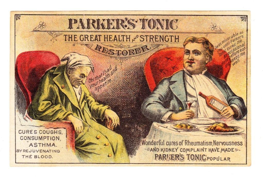 1880s Victorian Patent Medicine Advertising Trade Card