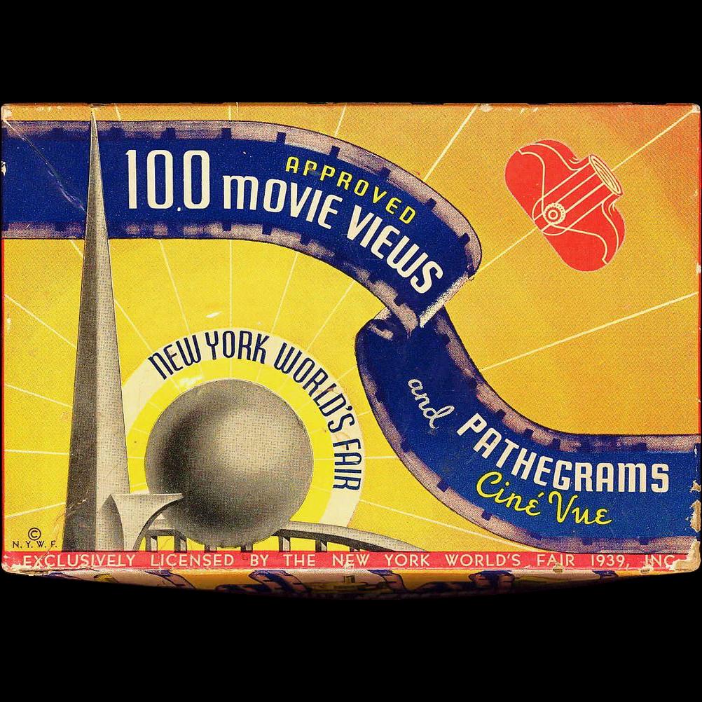 1939 New York World's Fair Souvenir - Film Strip and Viewer