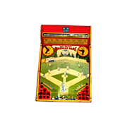 c1928 Great American Baseball Game Vintage Tin Lithograph Toy - Hustler Toy Corporation, Sterling IL