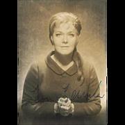 Leonie Rysanek Autograph, CoA