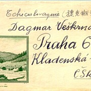 PR China: Scarce Stationery to wife of Czech President Havel