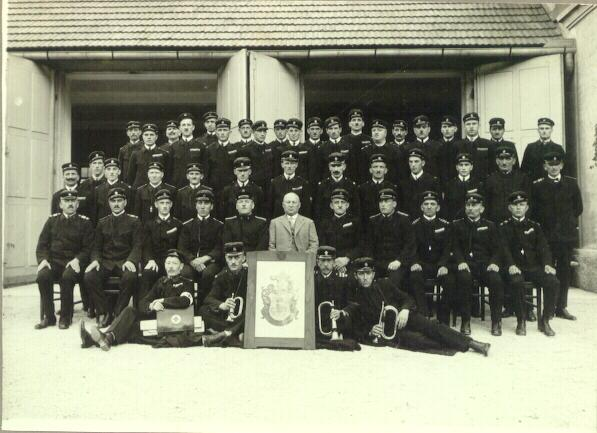 Photo of Fire Brigade from 1927