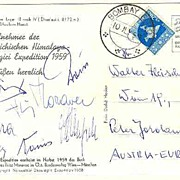 1958: Austrian Mountaineering in Himalaya Region. Incl Fritz Moravec
