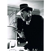Robert Mitchum Autograph on Photo. CoA
