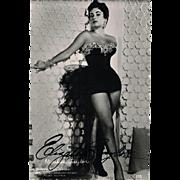Elizabeth Taylor Autograph on MGM Austria Photo, CoA