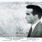 Montgomery Clift Autograph on The Defector Photo, 1966. CoA