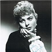 Ingrid Bergmann Autograph 8 x 10 CoA