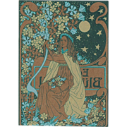Art Nouveau Postcard, Trading Card