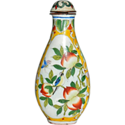 Enameled Chinese Snuff Bottle