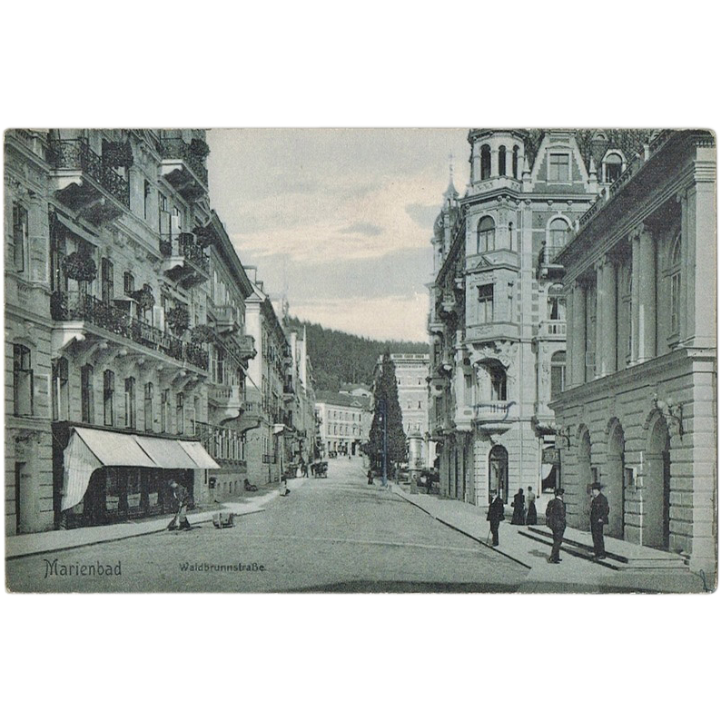 Marienbad Vintage Postcard