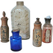 Collection of Antique Chinese Bottles