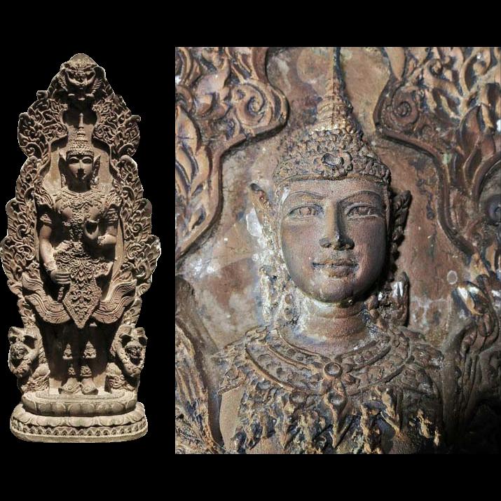 Attractive Thai Figure. Deva and Ornament