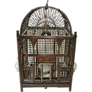 Antique Chinese Bird Cage, Dome
