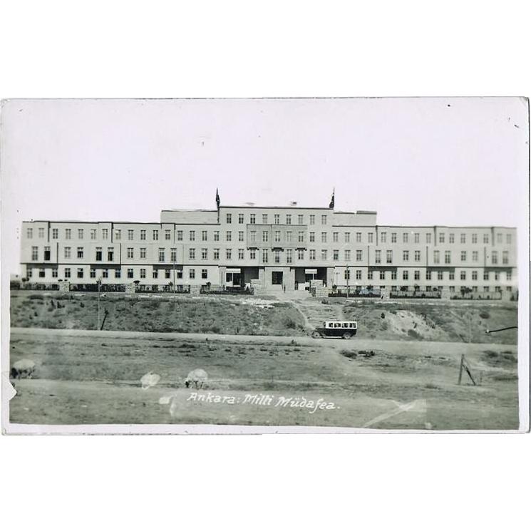 Old Turkey, Ankara: Milli Muedafea. Vintage Photo. App. 1915