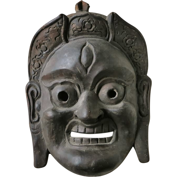 Antique Indian Mask