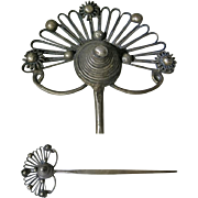 Chinese Hair Pin Floral Decor