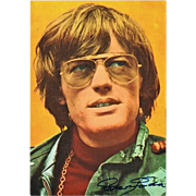 Peter Fonda Autograph: Easy Rider. CoA