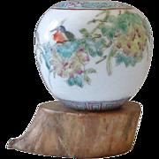 Old Chinese Porcelain Brush Washer
