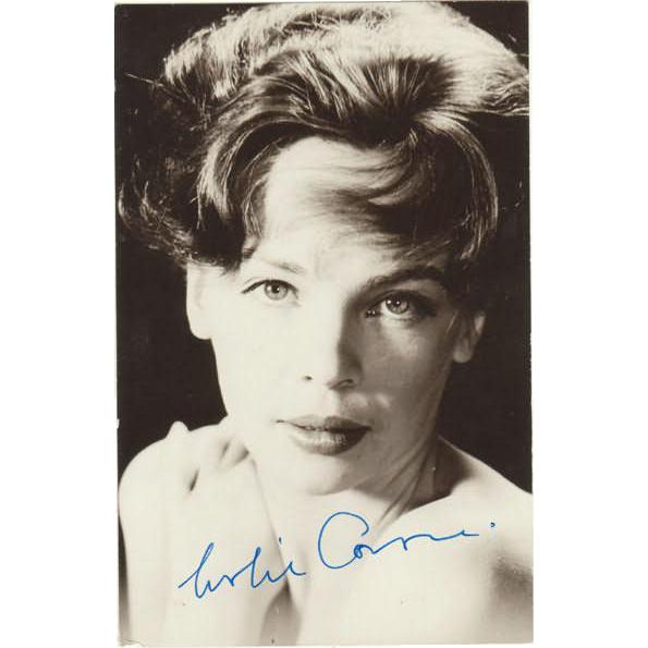 Leslie Caron Autograph on Photo. CoA