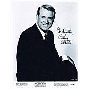 Cary Grant Autograph on 8 x 10 Photo, CoA
