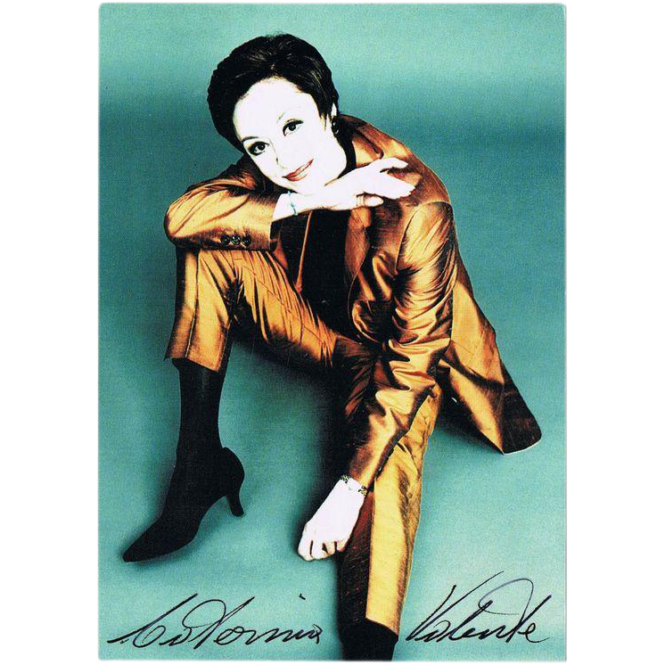 Catherina Valente Autograph on beautiful Photo, CoA
