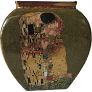 Klimt The Kiss Vase by Goebel Limited Edition.