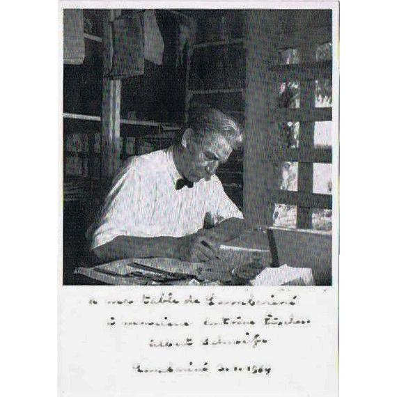 Albert Schweitzer Autograph Peace Nobel Price Winner 1952