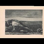 Two Käthe Kollwitz Artist Postcard
