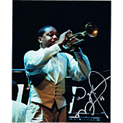 Wynton Marsalis Autograph signed Photo CoA