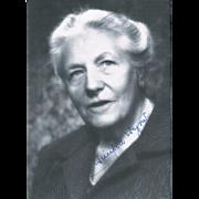 Winifred Wagner Autograph Photo signed Twice CoA