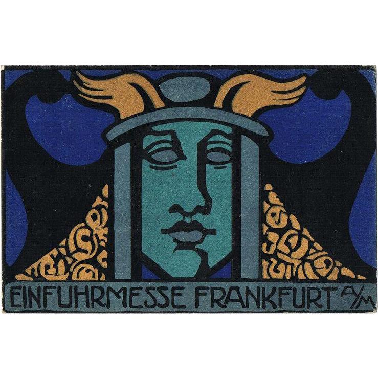 Postcard by Lina von Schauroth