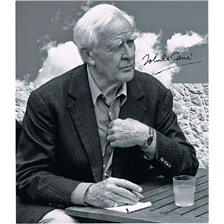 John Le Carré  Signed Portrait Photo CoA