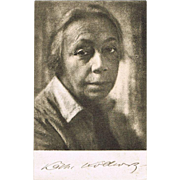 Kaethe Kollwitz Portrait Postcard from 1933