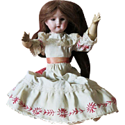 Antique Bisque Doll 1909