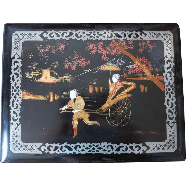 Old Japanese Lacquer Album