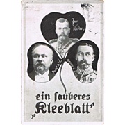 Tzar Nicholas II Postcard from 1910