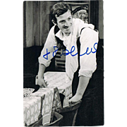 Jean-Paul Belmondo Autograph on Photo CoA