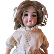 Desirable Porcelain Head Doll by Simon & Halbig