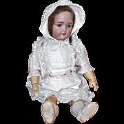 Adorable Porcelain Head Doll Simon and Halbig 1349